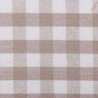 Empire Lampshade in taupe checks - Vercors Taupe 61.0402.10