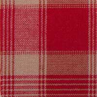 Detail van stof Rode ruiten in schots patroon - MorzCherry - 61060373